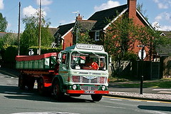 Albion Graham Bailey Cheshire Run 2007 _1 (Frank Hilton.) Tags: classic truck lorry eight wheel maudsley aec atkinson albion leyalnd bristol austin outside heavy haulage crane 8 axle