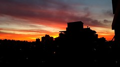 Pôr do sol de Porto Alegre