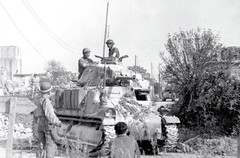 S-35 Somua in the service of the French army, Western front 1945.<br />