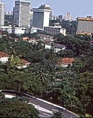 Singapur - Singapore (rrodriguez16) Tags: rarb1950 arboles trees buildings edificios singapur singpore analog film 35mm voigtländer bessamatic colorskopar 50mmf28 kodak kodachrome colorslides