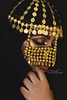 Heart To Heart (DesertWindsPhotography) Tags: jewelry makeup art blue gold red india arab arabic uae qatar saudi arabia black colorful morocco fabric hijab green women portrait indoor bright background الإمارات السعودية بتول الكويت البرقع عيون برقع