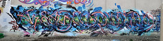 heesco putos chaotic elctricals (tb_frbnk) Tags: graffiti melbournegraffiti heesco putos chaotic streetart melbournestreetart allthoseshapes