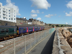 150124, 153318 & 150247 Penzance (5) (Marky7890) Tags: gwr 150124 150247 153318 class150 class153 supersprinter sprinter 2e66 penzance railway cornwall cornishmainline train