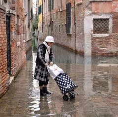 venice flood (poludziber1) Tags: city colorful cityscape color colorfull street streetphotography people italia italy river water rain urban venice venezia travel mpt540 matchpointwinner
