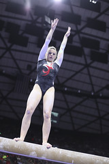 gymnastics026 (Ayers Photo) Tags: sports canon utahutes utah utes red redrocks gymnastics barefoot bare foot feet toes toe barefeet woman women