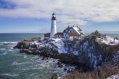 Portland Head Lighthouse, Cape Elizabeth, Maine (nelights) Tags: portlandheadlighthouse portlandheadlight portlandhead portland capeelizabeth maine cascobay lighthouse usa wbnawneme