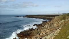 La vie poétique / 310 - Pen An Enez - Esquibien - Finistère - Hiver 2017 (jeanyvesriou1) Tags: mer sea mare côte coastline rivage littoral falaises cliffs lecapsizun esquibien finistère acantilados scogliere