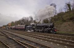 Ivatt no.43106 (alts1985) Tags: ivatt no43106 bewdley severn valley railway spring steam gala svr train worcestershire shropshire 170317 180317