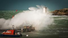 Tempête sur le Conquet (clos du pontic) Tags: conquet finistère bretagne port phare kermorvan tempête iroise mer vague coupdevent pentax k20d pointe presquile 55300