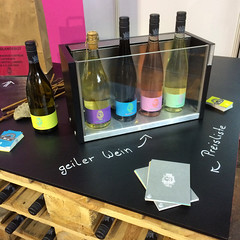 Wein von 3 Messestand (barockschloss) Tags: messestand weinvon3 messe tradefair wine wein winery weingut germany franken bavaria
