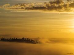 Antigone (retroSPecktive) Tags: travel bali fog sunrise indonesia landscape golden olympus