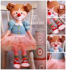 { Apostila Digital Mini: Projeto Palhacinha } (| Boutique do Feltro |) Tags: digital feltro boneca palhacinha palhaça apostila