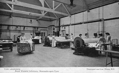 Laundry, Newcastle Royal Victoria Infirmary (robmcrorie) Tags: history newcastle royal victoria patient health national doctor laundry nhs service british nurse healthcare infirmary