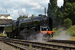 GCR_2014_06_21_097 (Phil_the_photter) Tags: loughborough swithland gordonhighlander greatcentralrailway deltic gcr 9f ivatt 9016 class55 46521 92214