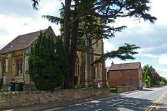 Eckington, Worcestershire, Holy Trinity (Tudor Barlow) Tags: summer england churches worcestershire listedbuilding parishchurch eckington gradeiilistedbuilding lumixfz200