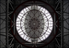 Station KL Sentral (Chrixcel) Tags: architecture ceiling rosace gomtrie cercle plafond escheresque ovale