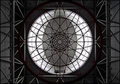 Station KL Sentral (Chrixcel) Tags: architecture ceiling rosace gomtrie cercle plafond escheresque ovale