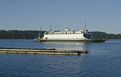 Ex-WSF Rhododendron moored in Fanny Bay. (BCFS) Tags: ferry rhododendron fannybay washingtonstateferry islandscallops