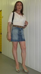 Look for a hot afternoon (Alessia Cross) Tags: tgirl transgender transvestite crossd