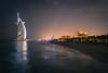 Dubai - Burj Al Arab by night (Thomas G. from U.) Tags: hotel asia asien dubai burjalarab unitedarabemirates jumeirah gastronomie gastronomy jumeirahbeach برجالعرب arabianpeninsula soukmadinatjumeirah towerofthearabs دولةالإماراتالعربيةالمتحدة daralmasyafhotel جميرا