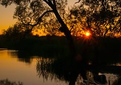 DSC_1312 (Algots) Tags: å vatten helge solnedgång kristianstad sommarkväll vattenriket
