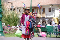 Inti Raymi 2014, Cusco, Peru (ARNAUD_Z_VOYAGE) Tags: plaza city costumes sunset people music food sun peru colors june festival inca america de religious la colorful aya view place mask pentax god cusco armas south year ceremony southern most celebrations empire sharing andes ritual 24 woven