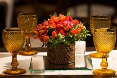 Centro de mesa (Flor e Forma) Tags: flowers wedding flores laranja decoration casamento centerpiece decorao vinho terracota lisianthus iateclubedesantos centrodemesa minirosa florforma floreforma celsia celsiafelpuda