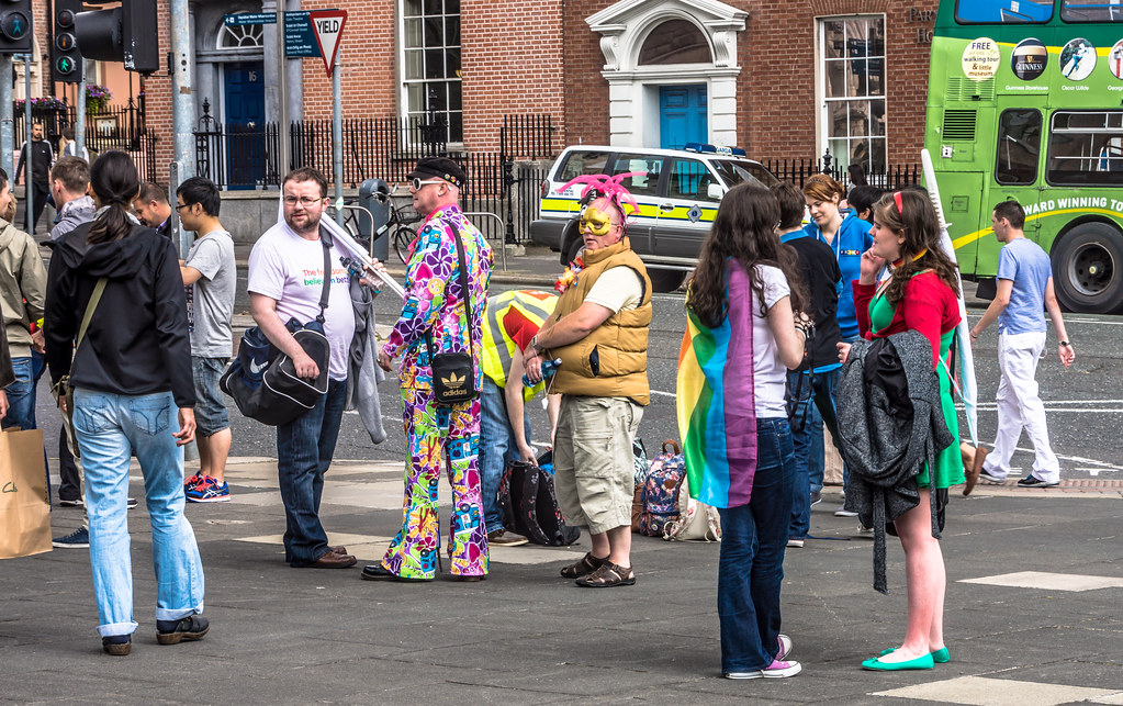 DUBLIN PRIDE PARADE 2014 - 40,000 PEOPLE WERE THERE - WHERE YOU ONE OF THEM?