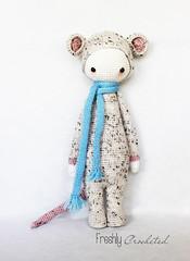 Rada, the rat (Olilchen) Tags: bear mushroom fly rat dolls crochet lion company fox amigurumi lalylala