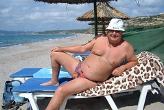 Sunbathing on Magic Beach Kos (pj's memories) Tags: kos greece kefalos magicbeach tanthru kiniki