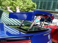 Wing (BenGPhotos) Tags: blue detail sports car japanese wing fast exotic wharf canary rare supercar lfa v10 aero lexus 2014 2011 motorexpo