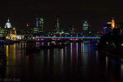 ViewFromRiverThames (kale.amit) Tags: london canon israel nightout palestine londonbynight londoneye bigben carousel slowshutter lighttrails protests a40 marylebone southbanks tfl viewoflondon 550d bestoflondon