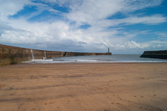 Seaham Lighthouse (Pete Burrows 2) Tags: sea lighthouse beach waves durham breakwater seaham countydurham sonyalphadslr