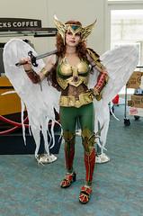 2014 San Diego Comic Con - Hawk Girl (rikiomgawa) Tags: costumes nikon sandiego cosplay dccomics hawkgirl lightroom sdcc sandiegocomiccon sandiegoconventioncenter d7000 conventionevents sdcc2014