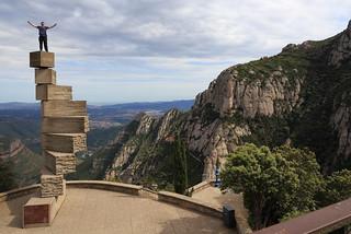 Escala de L'Enteniment de Ramón Llul, Santa Maria de Montserrat Abbey, Barcelona, Spain
