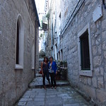 "Sara + I in Old Town Korčula <a style=""margin-left:10px; font-size:0.8em;"" href=""http://www.flickr.com/photos/14315427@N00/14646043769/"" target=""_blank"">@flickr</a>"