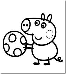 Peppa Pig Desenhos Colorir Pintar Imprimir 15 Desenhos Do Peppa