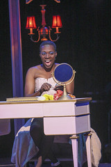 Alan Mingo, Jr. (Albin) in La Cage aux Folles, produced by Music Circus at the Wells Fargo Pavilion August 19-24, 2014. Photos by Charr Crail.