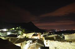 Panorama notturno (Skiwalker79) Tags: italy panorama landscape italia marche fabriano ancona castelletta panoramanotturno parcogoladellarossaedifrasassi