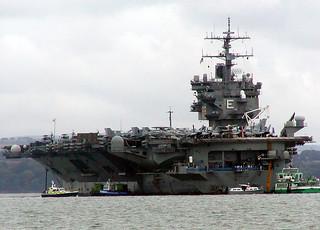 CVN-65 USS Enterprise - Stokes Bay 04-07-04