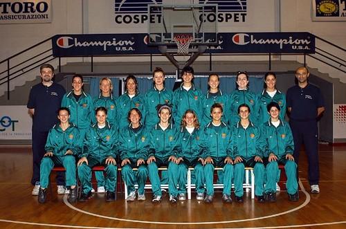 Collegno Basket Femminile - Serie B 2002-03