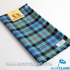 Clan Baird Ancient Tartan Headsquare -