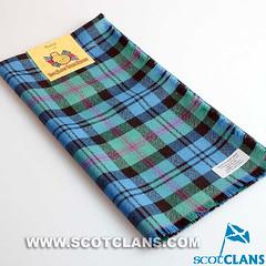 Clan Baird Ancient Tartan Headsquare -
