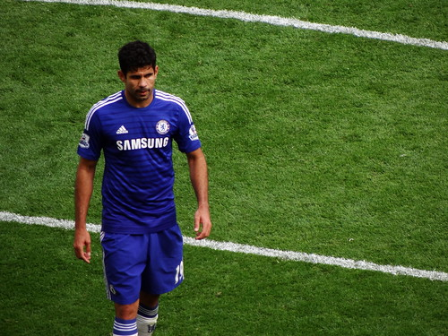 Chelsea FC (and Spain) striker Diego Cos by Ben Sutherland, on Flickr