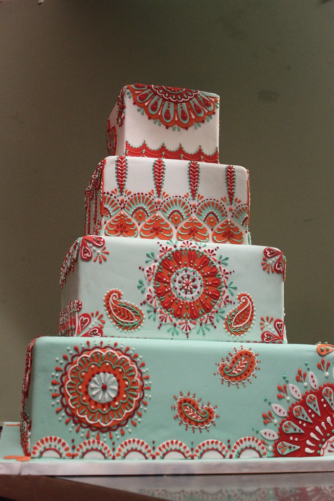 paisley wedding cake the world s best photos of cake and paisley flickr hive mind 18107