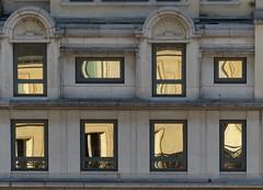 Paris Window Blocks (Gill Prince) Tags: windows distortion paris france reflection glass gold grey glow distorted opposite blocks unusual printemps