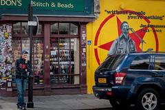 Thoughts (matteolel) Tags: people london shop person jeep joe persone negozio portobello londra strummer portobelloroad