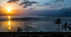 Earlybirds (Ricky Reardon) Tags: ocean morning sea bali beach clouds sunrise indonesia denpasar sanur