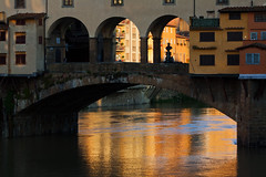 A Beloved Place... (akal_flickr) Tags: morning light italy florence ponte firenze veccio innamoramento
