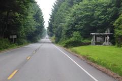 Washington 101 - Kalaloch Entrance (daveynin) Tags: road sign nps 101 welcome olympic boundary deaftalent deafoutsidetalent deafoutdoortalent